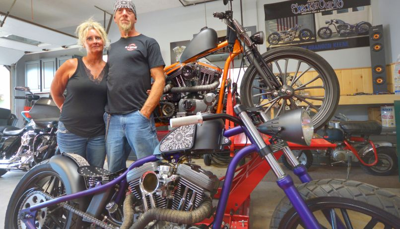 Traverse City Built Motorcycle Wows
