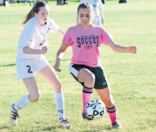 Girls Soccer Set To Paint The Fall