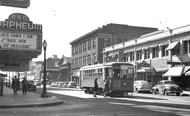 Pierce Street 1941