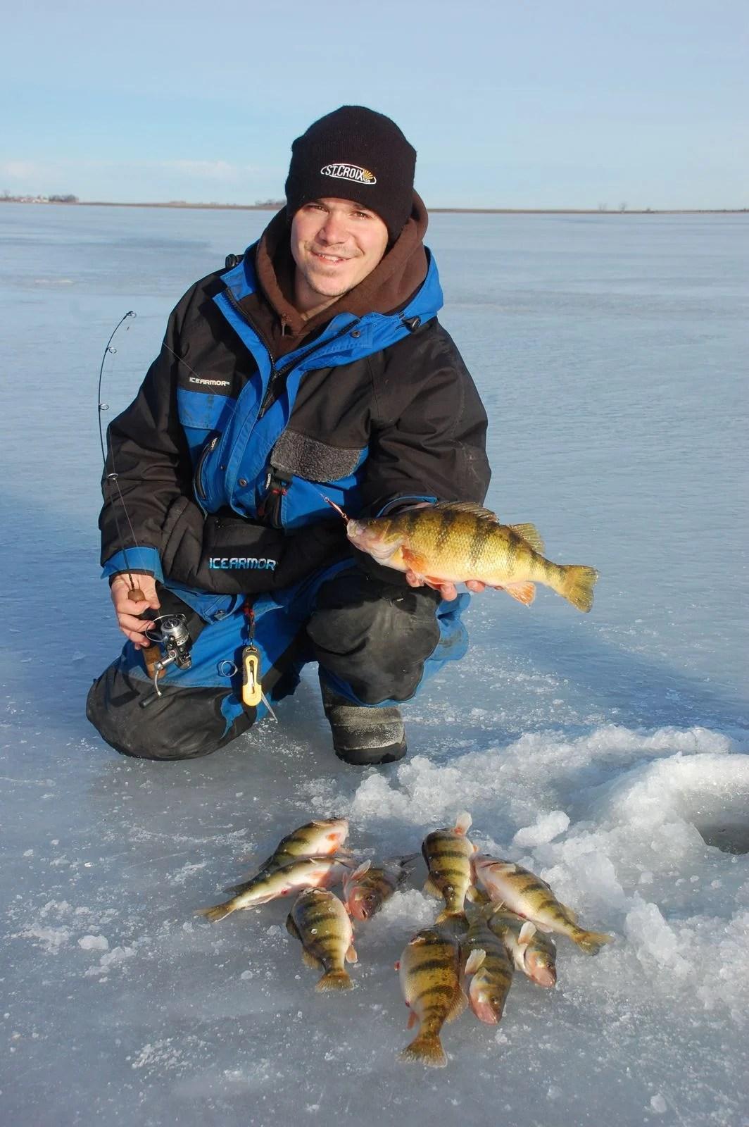 Farm Pond Ice Fishing