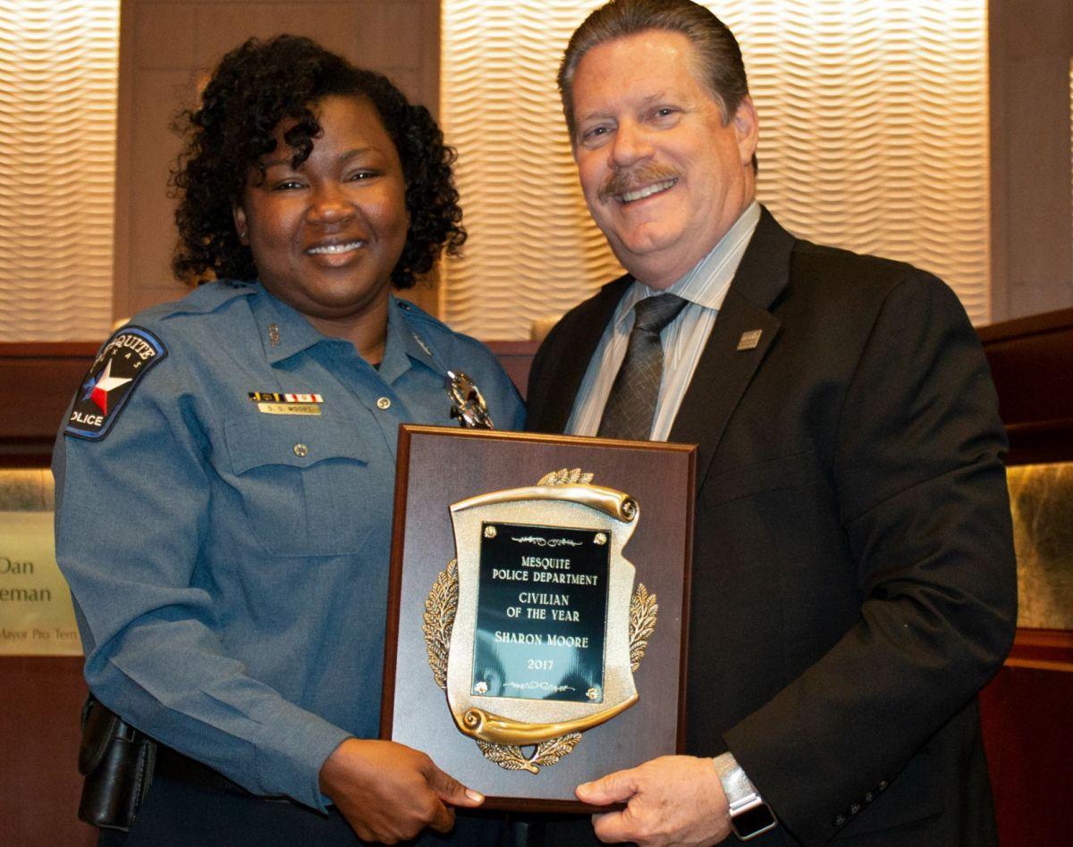 Mesquite Police Department employees receive meritorious ...