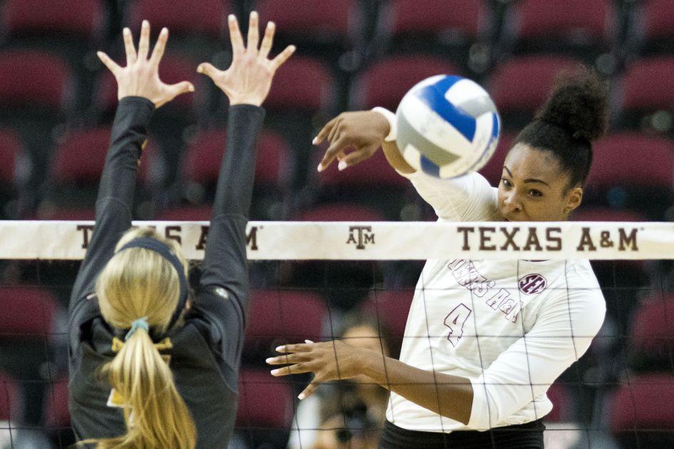 Texas A&M volleyball team knocks off SEC-leading Missouri ...