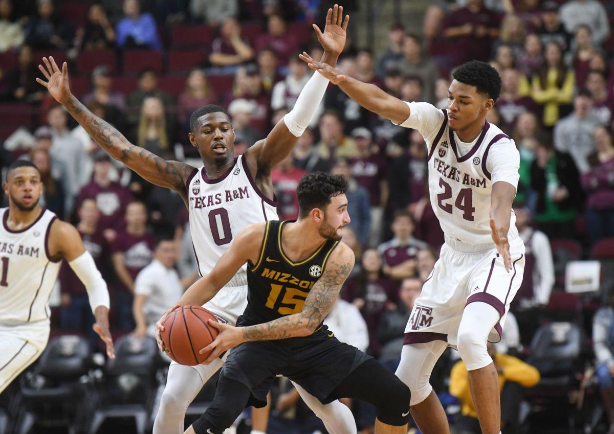 Texas A&M men suffer blowout loss to Missouri to cap rough ...
