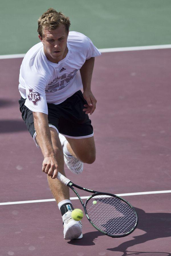 Texas A&M men's tennis team shuts out Buffalo to open ...