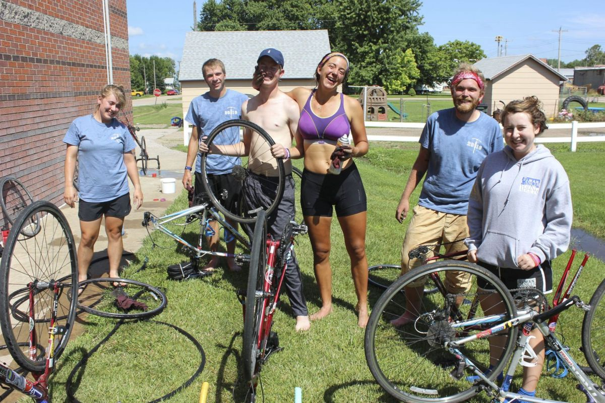 Cross-country bike ride filled with sweat, laughter, tears ...