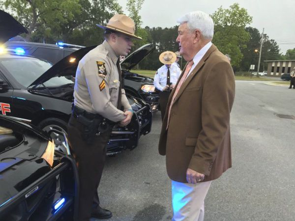 Dawn breaks on Thomas County sheriff's annual inspection ...