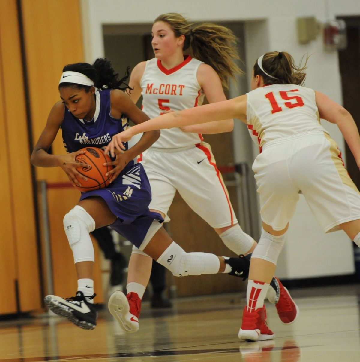 PHOTO GALLERY: Bishop McCort girls hand Bishop Guilfoyle ...