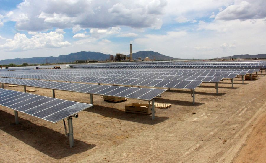 Electric co ops turn on solar farm near Apache power plant     The Apache Solar Project was built by Arizona s G T Cooperatives near the  coal fired Apache Generating Station in Cochise County  Trico Electric   which