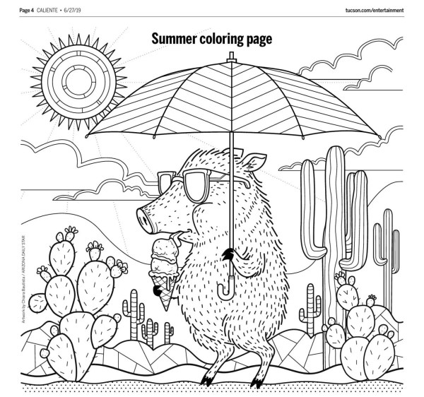 daily coloring pages # 6
