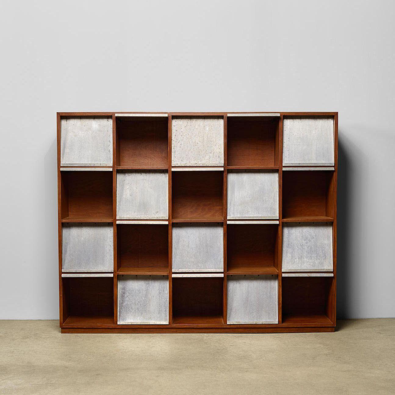 modern magazine rack designed by pierre