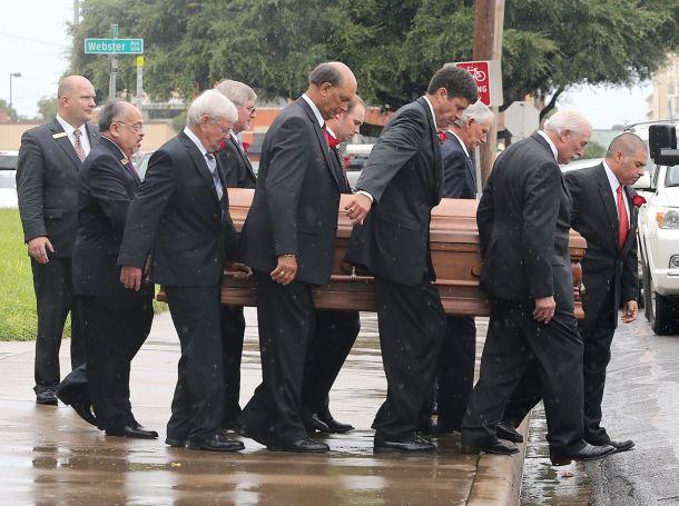 Image result for mike mcnamara funeral, waco texas