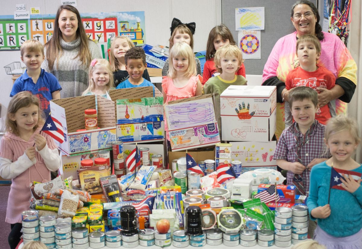 Two Rivers kindergarten students send care packages to ...