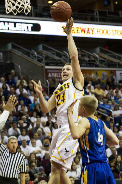 Boys State Basketball Go Hawks Knocked Out By Wahlert