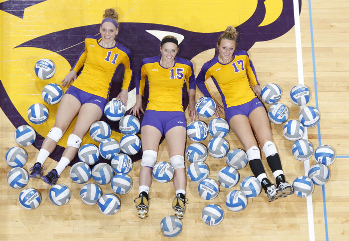 UNI Volleyball Panthers Hurdle Question Marks At Media