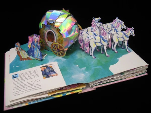 CRMA Features Collection Of Pop Up Books Local