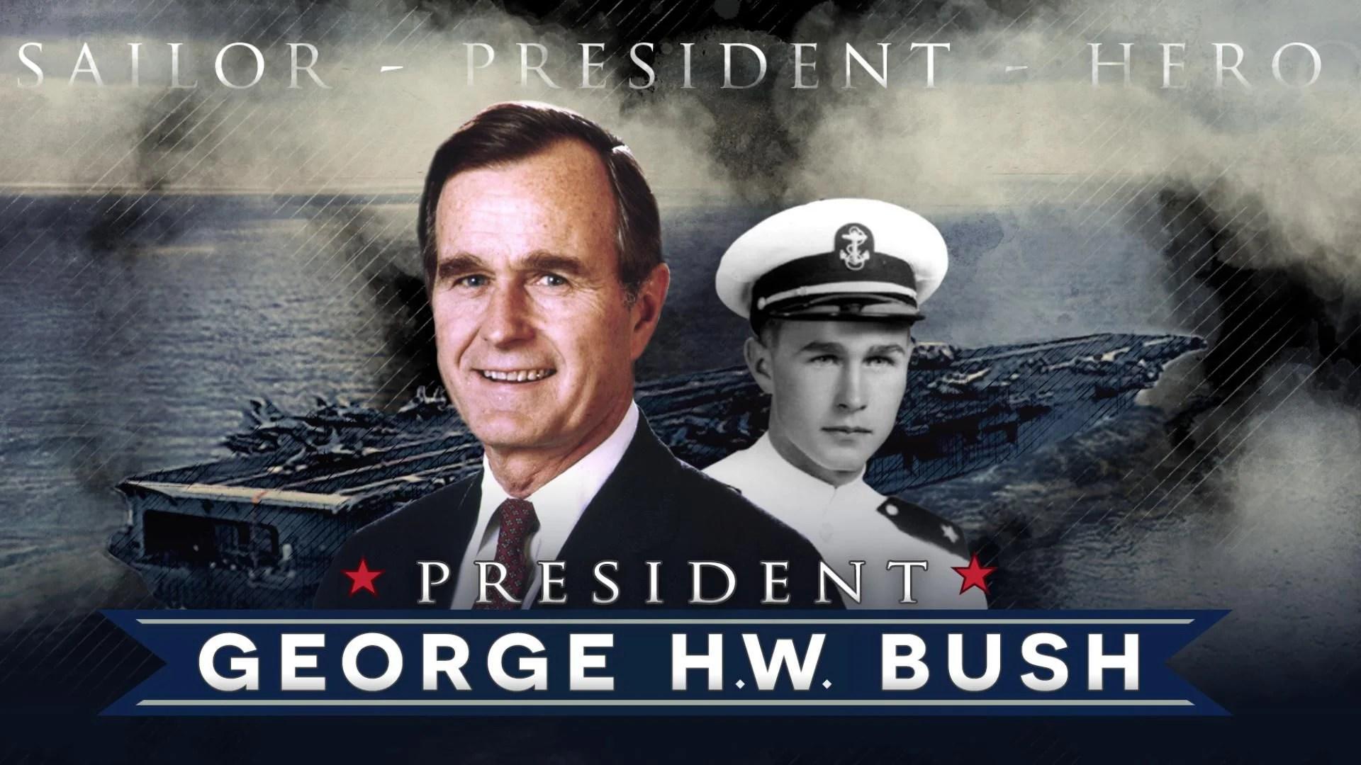 naval career of president george h.w. bush