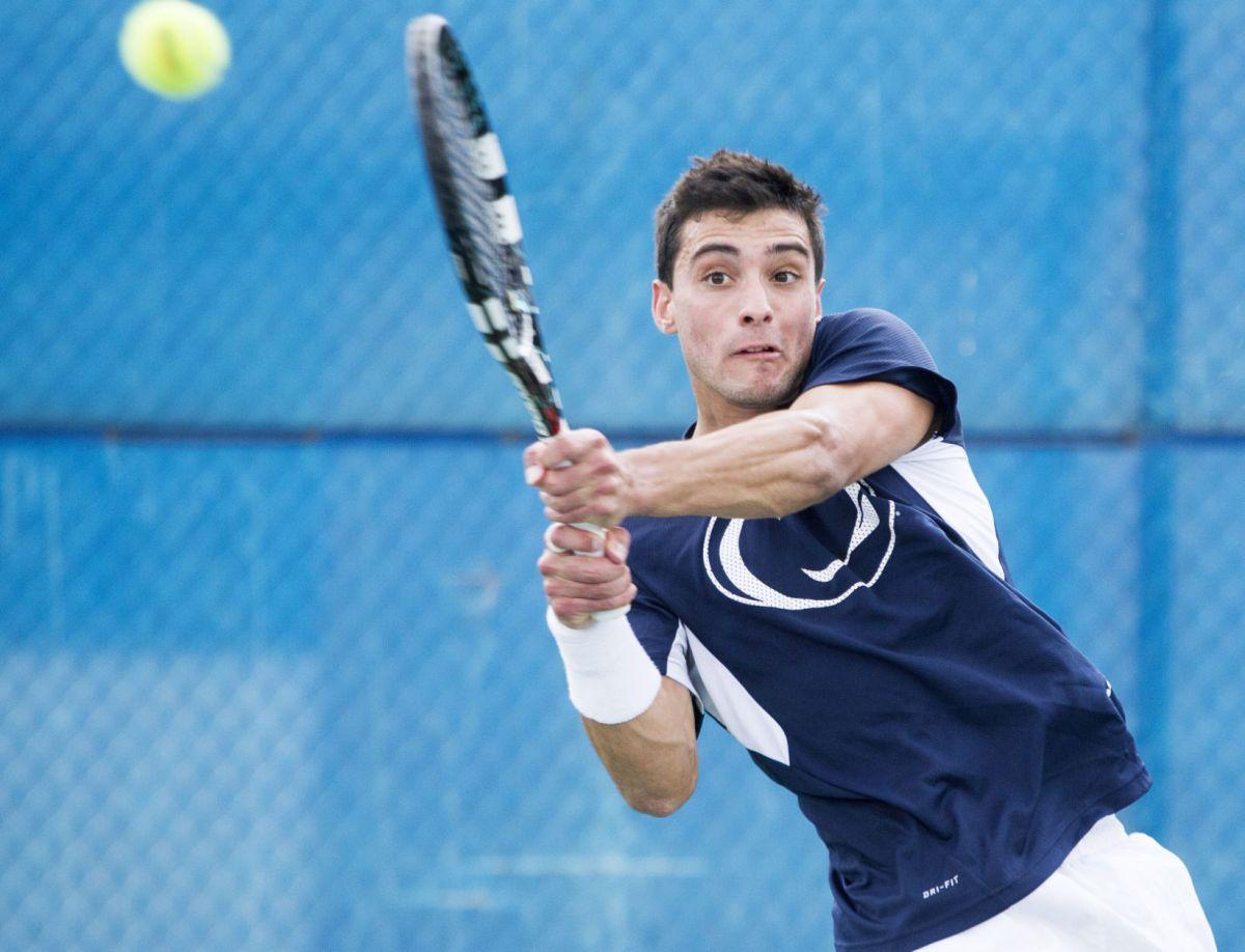 Penn State men's tennis soars past Lehigh   More Division ...