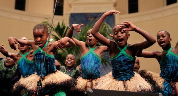 African Children's Choir performs at First Baptist Church ...