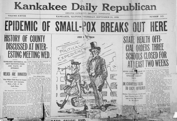 Go back in time with this 100-year-old newspaper   Local ...