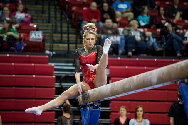NU women's gymnastics team defeats Minnesota | Sports ...