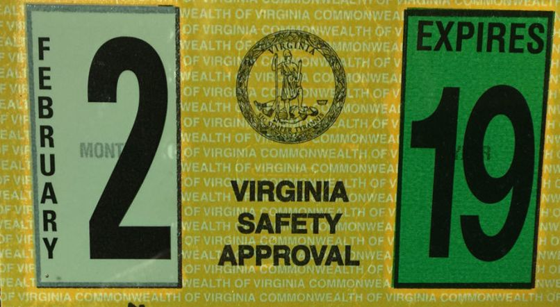 New Virginia Car Inspection Stickers Are Smaller Less Susceptible To Tampering The News Virginian Dailyprogress Com