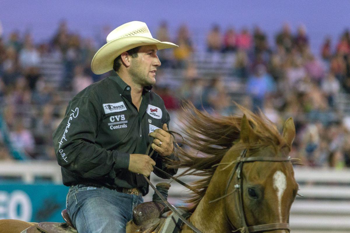 Rodeo Larsen Returns To Defend Local Eastoregonian Com