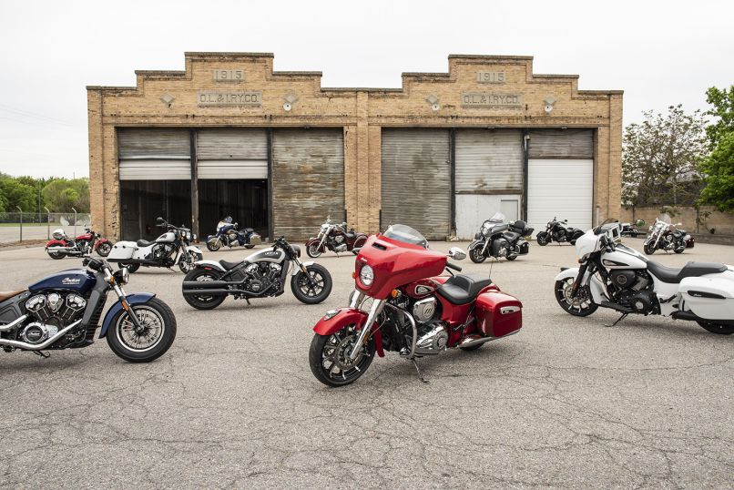 Indian Motorcycle Dealership Moving