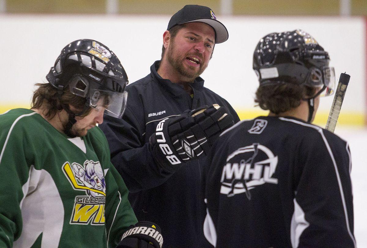 Gillette Wild's bench has new, intense voice | Wild Hockey ...