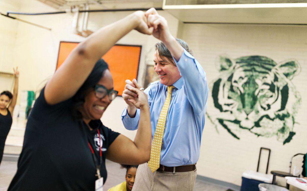Kiser Principal Ged O'Donnell says he sees his struggles ...