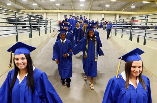 Mount Pleasant High School graduation 2013 ...