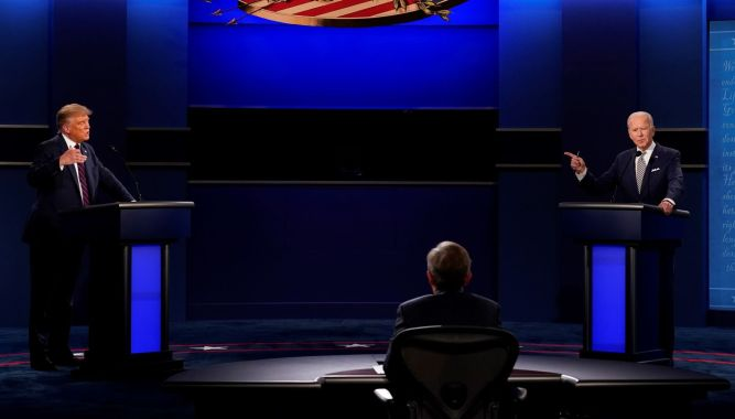 Chaotic first debate: Taunts overpower Trump, Biden visions | Journal-news | journal-news.net