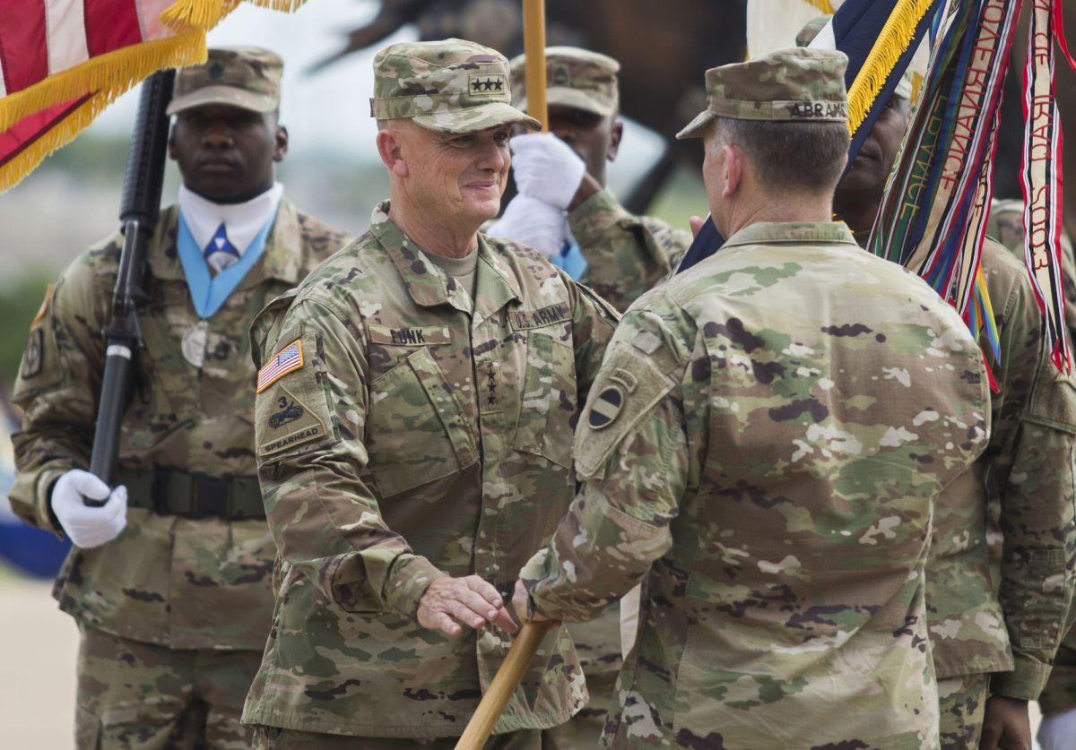 Fort Hood Iii Corps Welcome New Post General Across The
