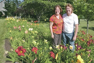 Garden Walk stop features hostas and history
