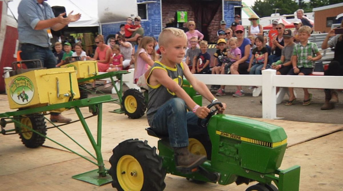 Women's health may earn commission from the links on this page, but we only feature products we believe in. Kids Pedal Their Weight At Annual Tractor Pull Regional Kulr8 Com