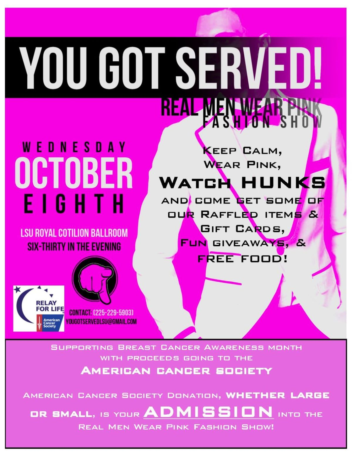 Real Men Wear Pink Fashion Show brings breast cancer ...