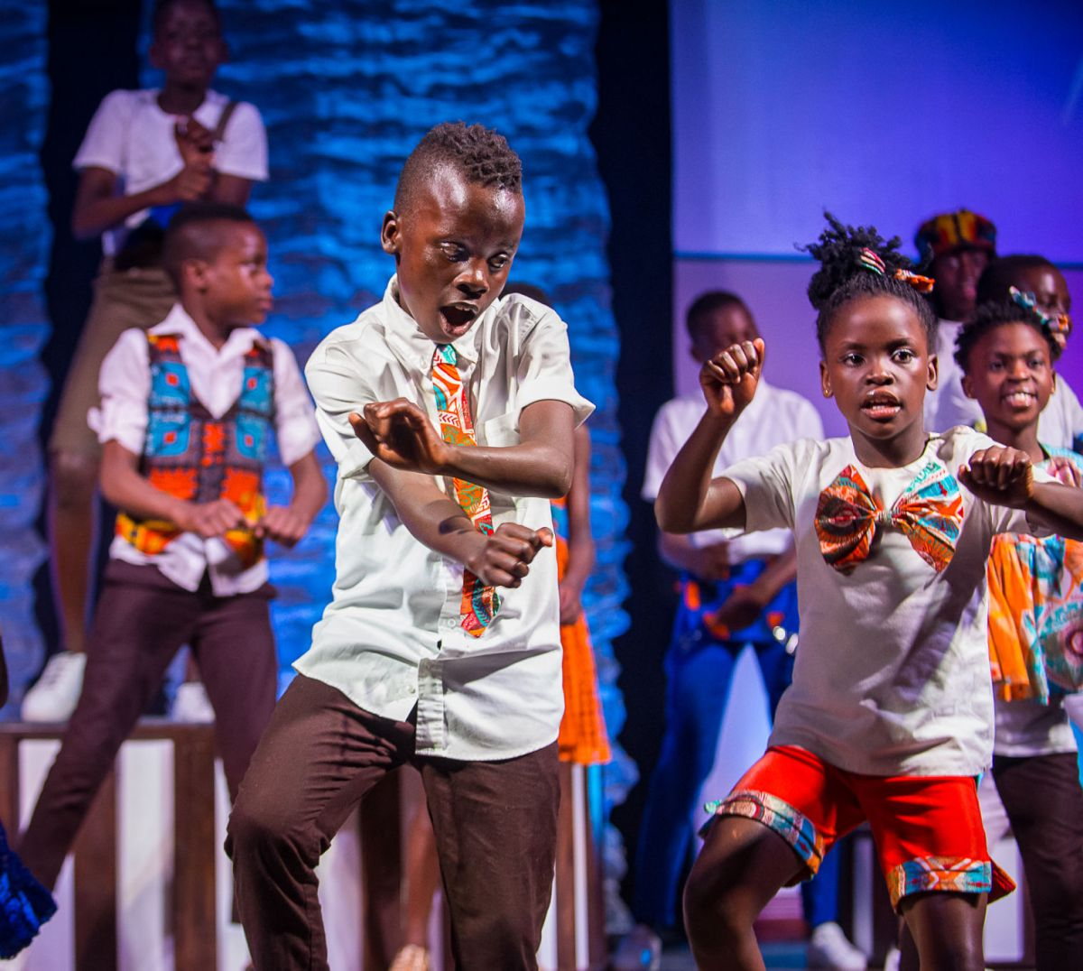 Songs of hope: African children's choir performs at ...
