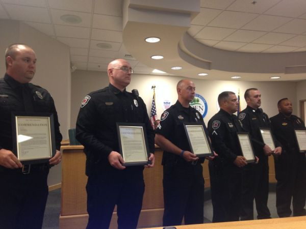 Law enforcement received commendation for service | Eden ...