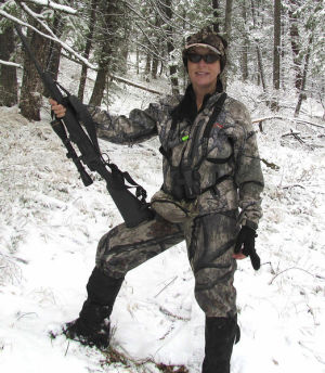 Fairbanks newcomer up for national hunting award