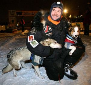 2013 Yukon Quest Allen Moore winner courtesy of Fairbanks Daily News Minor