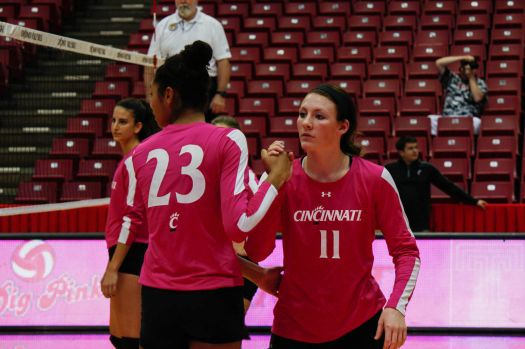 UC women's volleyball serves Temple Owls | Sports ...