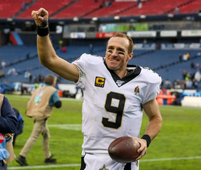 Drew Brees All Good After Landing On Wednesdays Injury Report