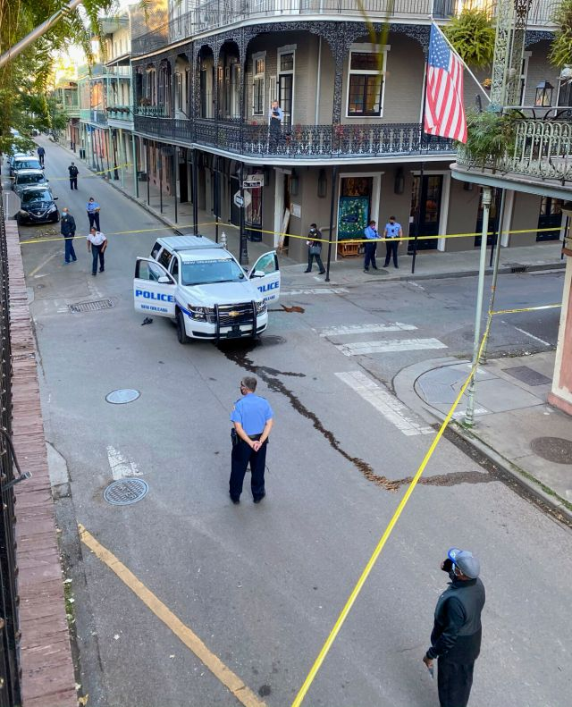 Man suspected of shooting NOPD officer in French Quarter identified by sources