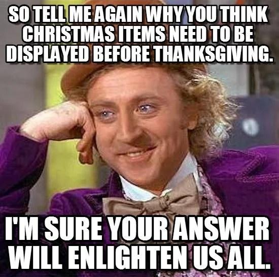 Early Decorating Meme Christmas