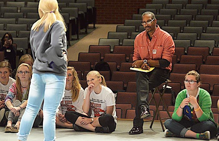 Learning from a Broadway actor