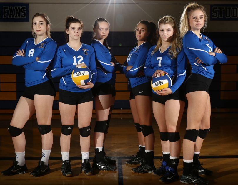 Glide volleyball team led by close-knit seniors   Sports ...