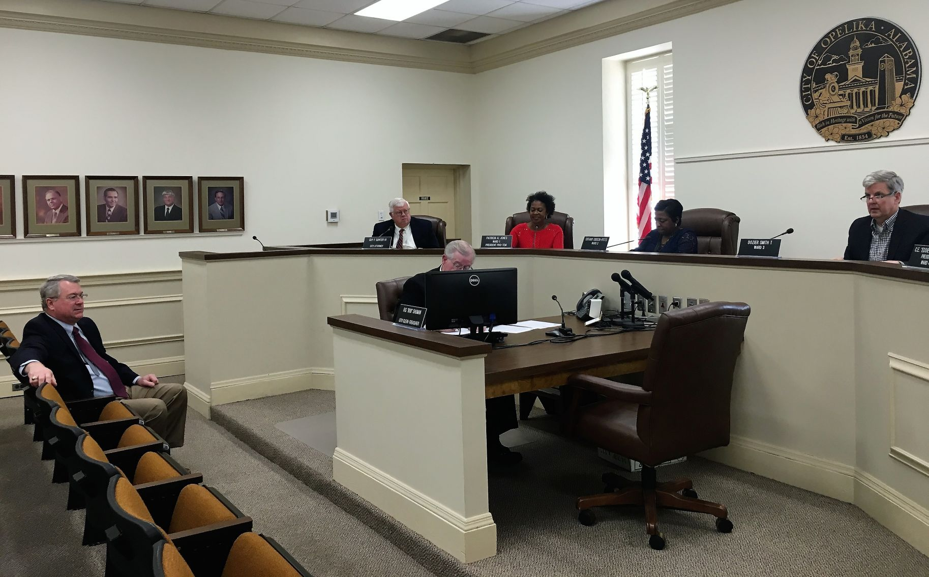 Opelika City Council approves official vote totals for education tax     Opelika City Council special meeting