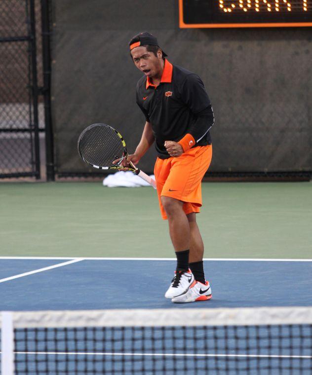 Photos: OSU men's tennis defeats No. 10 Texas Tech ...