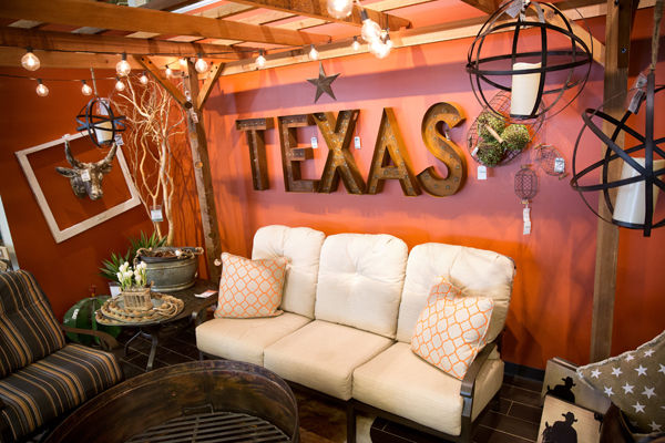 Gentil Texas Themed Living Room Home Design