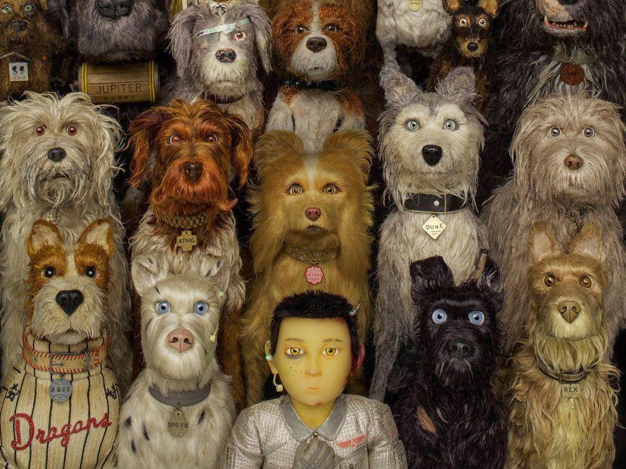 Znalezione obrazy dla zapytania isle of dogs