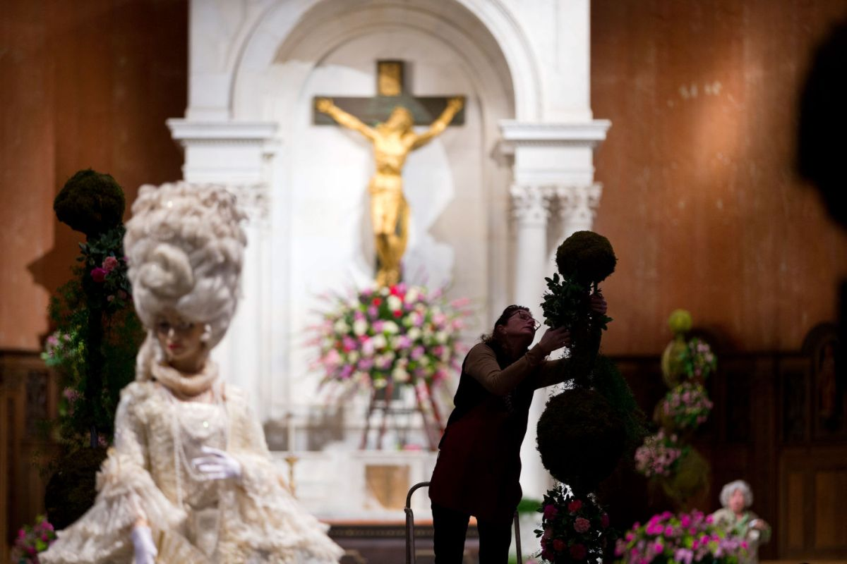 Flower festival inside St Cecilias will help you forget
